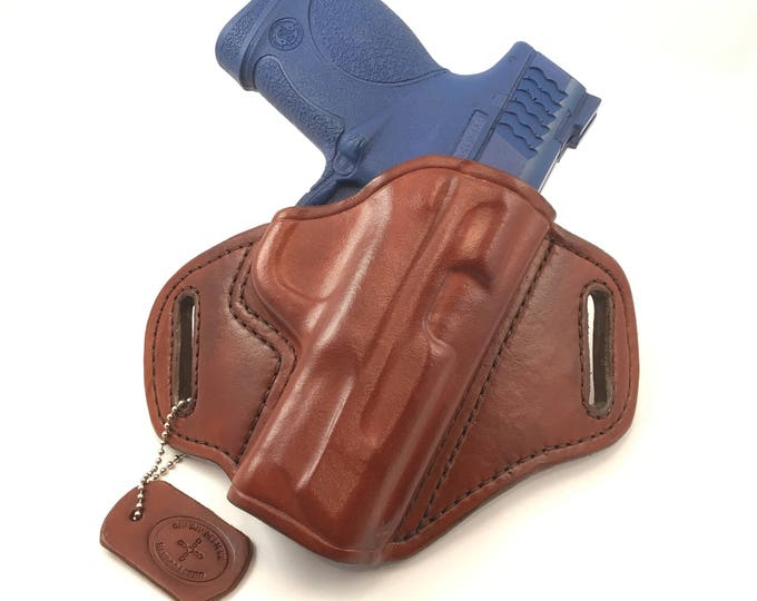 S & W MP .45 Compact - Handcrafted Leather Pistol Holster