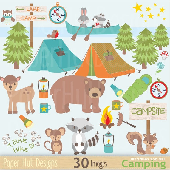 Boys Camping Clipart Boys Camping Clip Art-Cute Forest-1063