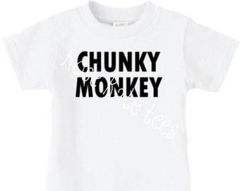Chunky Monkey custom shirt