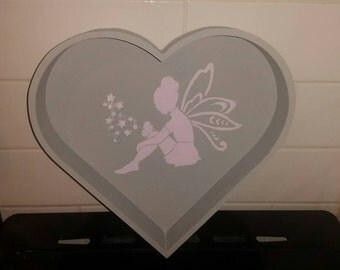 Fairy heart tray
