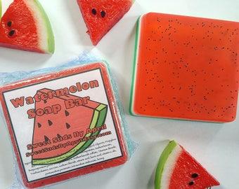 Watermelon Soap Bar - Beauty Bar - Fruit Soap - Summer Soap - Bar Soap