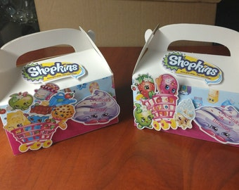 Shopkins   large Gable boxes