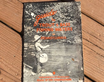 Pennsylvania Fish Commission 1949 Guide to Fishing Waters