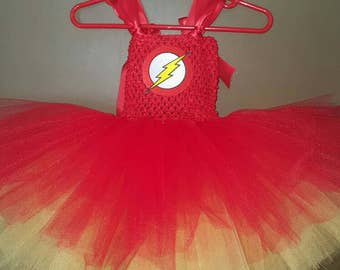 The Flash Tutu Dress. Fits most infants 0 to 12 months.