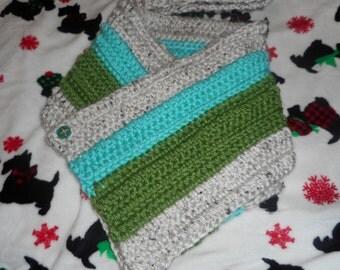Chunky Cowl Scarf. Crochet Cowl. Crochet Chunky cowl. Chunky crochet cowl scarf. Neckwarmer.Cowl
