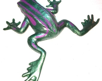 Frog and lizard hair clip - funky made