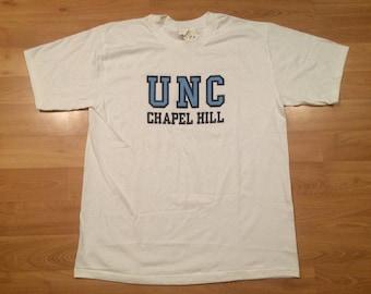 Unc tshirt etsy for University of north carolina t shirts