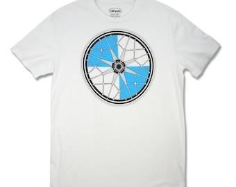 Motorcycle T-shirt, Men's BMW Snowflake Wheel T-shirt, motorcycle gifts, motorhead, moto t shirt, biker t shirt, motorcycle clothing