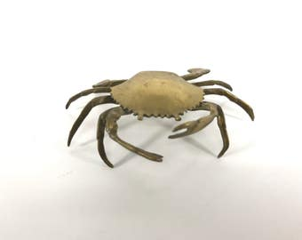 Brass crab ring holder free shipping