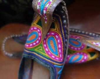 Handmade slippers/slip Ons (Rajasthan)