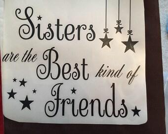 Sisters Vinyl Decal Sticker