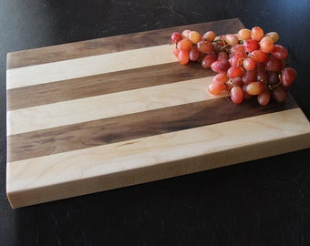 Classic Striped Cheese Board or Cutting Board