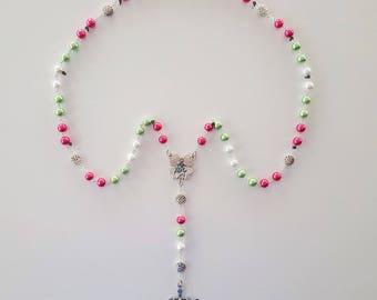 Watermelon Rosary