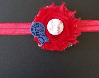 Baby baseball headband
