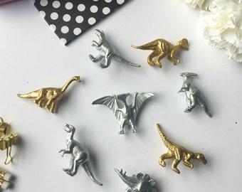 Dinosaur Fridge Magnets / Kids Refrigerator Magnet / Custom Gift or Party Favor / Gift Idea for Boyfriend