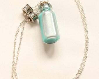 Bottle pendant necklace