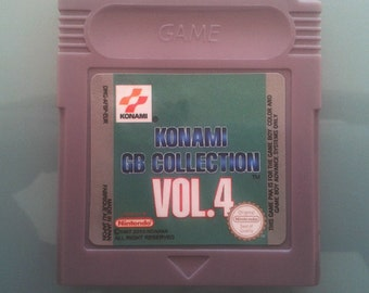 Konami BG Collection Vol 4  For Nintendo Game boy, gbc, gba, gba sp