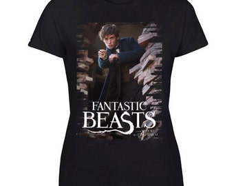 New Harry Potter Spin-Off Fantastic Beasts and Where to Find Them Tee Size S-XXL For Woman's