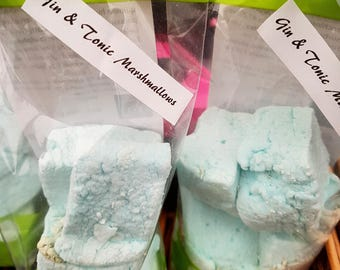 Gin & Tonic Marshmallows - made with Plymouth Gin