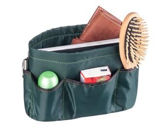 Purse ORGANIZER insert / Bag Organizer / Extra Sturdy / Dark green /Gift