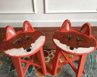 Friendly Fox stool