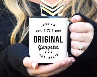 OG mug, OG, Original Gangster, Original Gangsta, Funny Mug, Funny Coffee Mug, Sassy Mug, Custom Mug, Pop Culture, Congratulations Gift