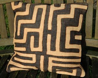 "Kuba Cloth cushion cover 45x45cm (18x18"") (KC33)"