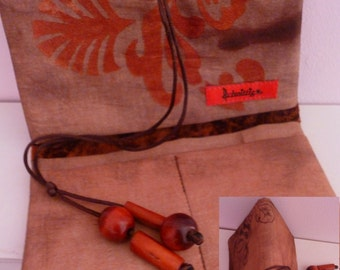 Tobacco pouch, pouch different shades of Brown