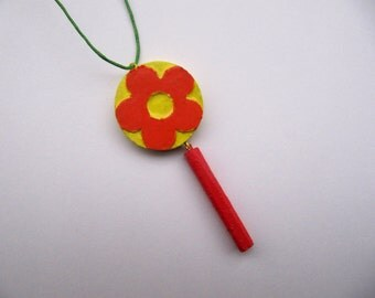 Flower Necklace - Summer Jewelry