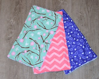 Baby Burp Clothes for Girls