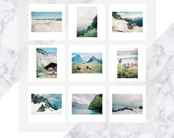 Gallery Wall, Wall Art, Switzerland Print, Switzerland, Home Decor, Travel  Decor
