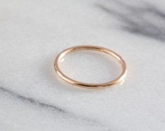 Gold Stacking Rings | Gold Filled Ring | Midi Ring | Knuckle Ring | Dainty Ring |  Minimalist Ring | Skinny Ring | Gold Ring | Circle Ring
