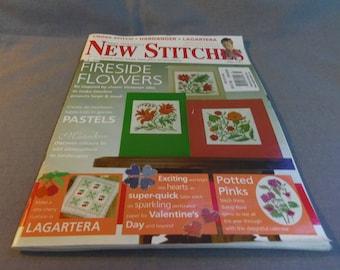 Mary Hickmotts New Stitches, No 141, UK Pub., January 2005, Cross Stitch, Hardanger, Lagartera
