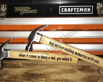 Personalized Hammers - Father's Day Gift -  Gift for Dad - Hammers - Father's Day Gift Ideas