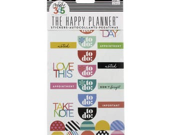 Create 365™ The Happy Planner™ To Do Stickers, Brights