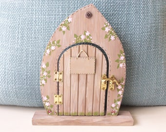 Large Fairy Door - Fairy Door, Handpainted Fairy Door, Fairies, Fairys.