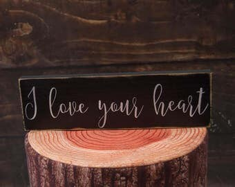 Rustic Wall Decor | Wife's Birthday | Gift For Young Couple | Birthday Present | Love Wall Sign | Anniversary Gift | Wooden Love Sign