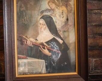 Vintage Religious Print