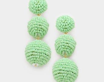 Bon Bon Beaded Earrings