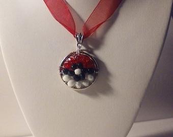 Pokemon Go! Pokeball Necklace
