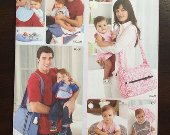 Simplicity Pattern #2924 His and hers' diaper bags and accessories