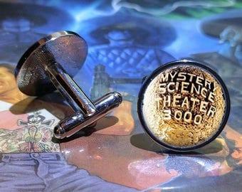 MST3K Mystery Science Theater 3000 Cufflinks