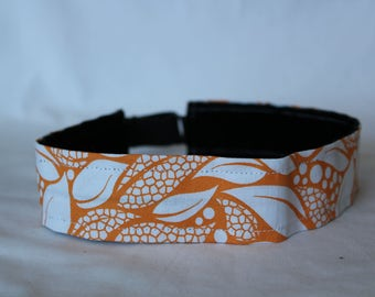 Orange Leaves Headband