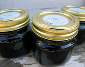 Berry Jelly, Blackberry Jelly, Raspberry Jelly, Blueberry Jelly, 8 ounce, Homemade Jelly, Jam, Jelly