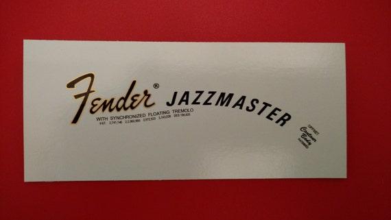70's Fender Jazzmaster with Gold metallic Trim