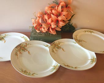 "Taylor, Smith and Taylor ""Acacia"" Dinner Plate - Set of 4"