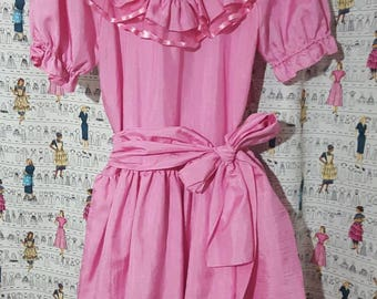 Vintage Perfectly Pink Dress Size S