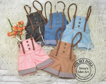 10% OFF Overalls for Blythe/ Pullip/ Azone/ Licca OMD A56