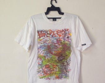 Rare !!! STUSSY X COSTUMADE Tshirt Streetwear Hiphop Skater