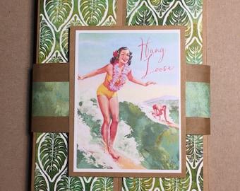 Vintage Theme Hawaiian Photo Folio-Hawaiian Mini Album